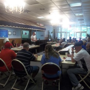 Coaches Clinic Ft Jackson SC July 20 2013